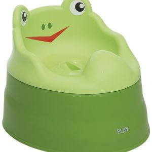 Potty Play Frog Verde