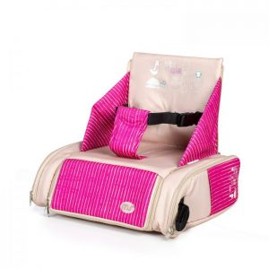 Booster Bag Beig / Rosa