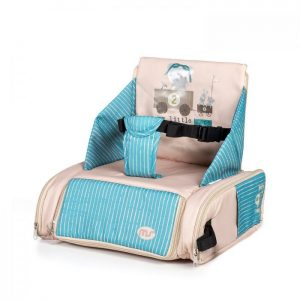 Booster Bag Beig / Azul