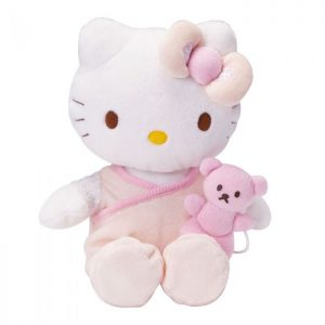 Peluche musical Hello Kitty